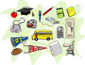 Sketchy Back to School Icons