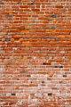 Red Grunge Brick Background
