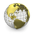 Golden globe, America
