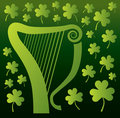Harp and Shamrocks