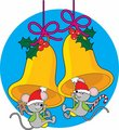 Christmas Bell Mice