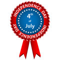 4 july independence day rosette