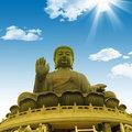 Hong Kong golden grand buddha