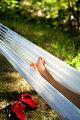Relaxing in a Hammock