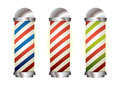 Collection barbers pole
