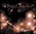 Dark Christmas background / card