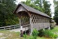 Wood Covered bridge.