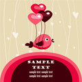 Valentine's day card with place for your text