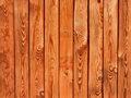Texture of a brown wooden fence