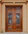 Ornate wood doors