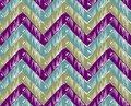 Zigzag striped background