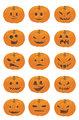 Halloween Pumpkin Smileys