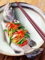 Asian steamed fish