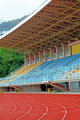 Track Lanes and Stadium