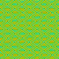 Retro seventies green pattern