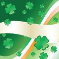 Irish Flag & Clover