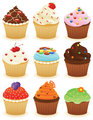 Cupcakes in a group!!