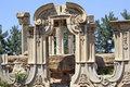 Ancient Gate Ruins Pillars Old Summer Palace Yuanming Yuan Old B