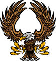Eagle Wings and Claws Mascot