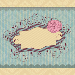 Vector Vintage Frame Stock Vector