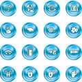 computer and internet icons icons