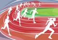 Running Race on Track