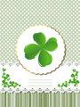 Decorative Saint Patrick card