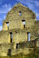 Ruins of a medieval European castle