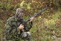 camouflage hunter