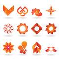 Contemporary Orange Logo and Icon Collection