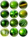 Fantastic Green Spheres