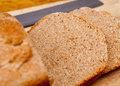 Sliced wheat bread