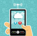 Cloud computing concept application
