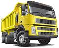 lagre yellow truck