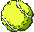 Tennis Ball Vector Image Template
