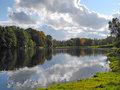 Māras Pond in autumn
