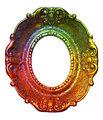Rainbow Retro Picture Frame