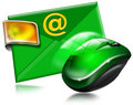 Email Concept With Mouse