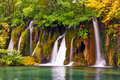 Waterfalls at Plitvice national park- Croatia