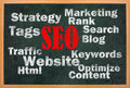 SEO concept with other related words