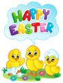 Happy Easter sign theme image 5