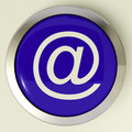 Email Button For Sending Message Over Internet
