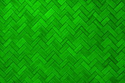 Texture Of Light Green Color Paint Weave Wall For