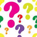 Question Mark Seamless
