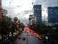 Rain in Sin City