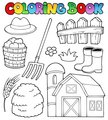 Coloring book farm theme 2