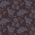 Roses damask seamless pattern