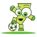 Football player character