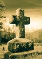 Cross on a hill