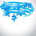 puzzle flying shape